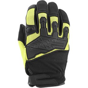 Speed and Strength Hi-Viz/Black Hammer Down Mesh Gloves - 872276