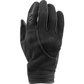 Speed and Strength Women's Black Comin in Hot Mesh Gloves - 872946