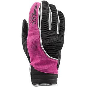 Speed and Strength Women's Pink/Black Comin in Hot Mesh Gloves - 872948