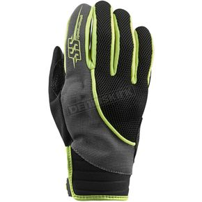 Speed and Strength Women's Hi-Vis/Gray/Black Comin in Hot Mesh Gloves - 872952