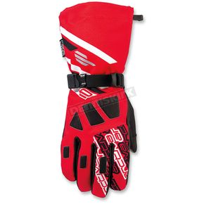 Arctiva Red/Black Quest Gloves - 3340-1077