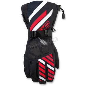 Arctiva Black/Red Ravine Glove - 3340-1128
