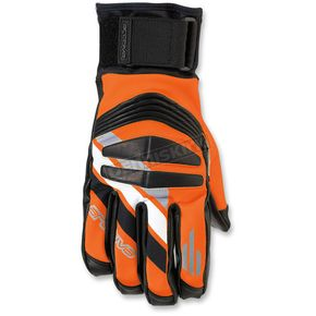 Arctiva Orange/Black Rove Gloves - 3340-1154