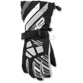 Arctiva Youth Black/Gray Ravine Gloves - 3342-0212