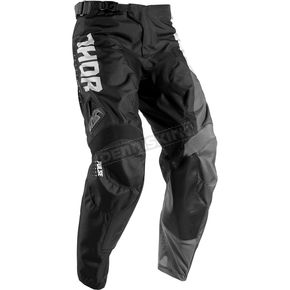 Thor Youth White/Black Pulse Aktiv Pants - 2903-1424