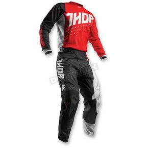 Thor Red/Black Pulse Aktiv Jersey - 2910-3898