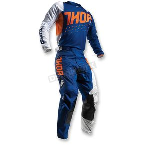 Thor Orange/Navy Pulse Aktiv Jersey - 2910-3901