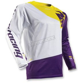 Thor White/Purple Fuse Air Pinon Jersey - 2910-3974