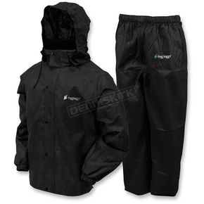 Frogg Toggs Black All Sport Rain Suit - AS1310-01MD