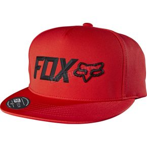 Fox Flame Red Lampson Snapback Hat - 17704-122-OS