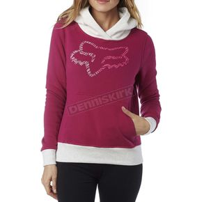 Fox Women's Burgundy Phoenix Hoody - 17549-171-XS