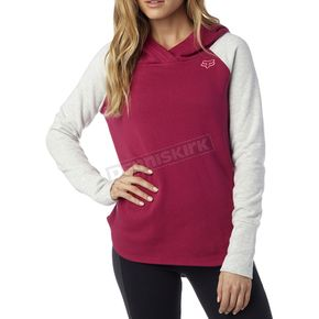 Fox Women's Burgundy Trot Hoody - 17461-171-XS