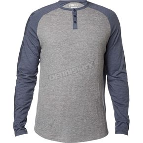 Fox Pewter Dragger Long Sleeve Shirt - 17559-052-S