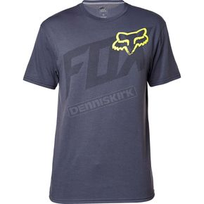 Fox Pewter Condensed Tech T-Shirt - 17597-052-S