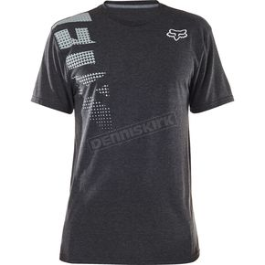 Fox Heather Black Senseless Tech T-Shirt - 18314-243-S