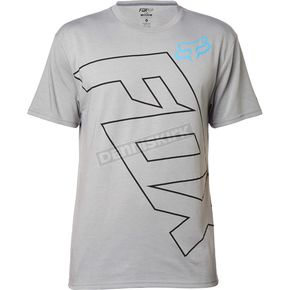 Fox Gray Spyr Tech T-Shirt - 17578-006-2X