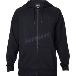 Fox Black Legacy Zip Hoody - 17616-001-S