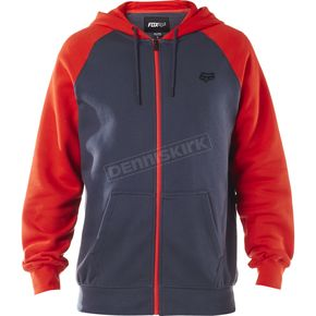 Fox Pewter Legacy Zip Hoody - 17616-052-M