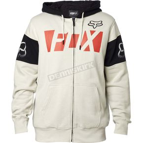 Fox Light Gray Libra Sherpa Zip Hoody - 17614-097-M