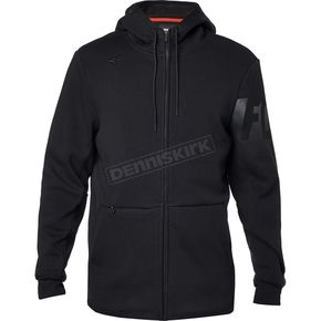 Fox Black Reformer Sherpa Zip Hoody - 17613-001-XL