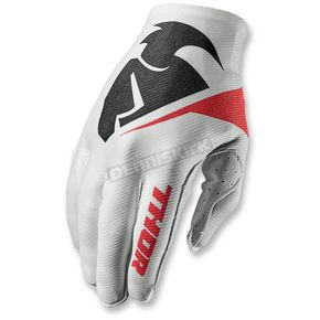Thor White Invert Flection Gloves - 3330-3930