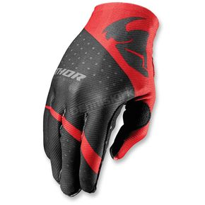 Thor Red Invert Rhythm Gloves - 3330-3953