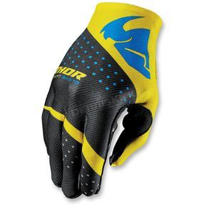 Thor Yellow Invert Rhythm Gloves - 3330-3954