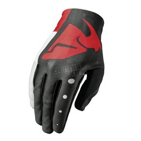 Thor Youth Red/Black Void Aktiv Gloves - 3332-1086