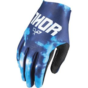 Thor Youth Blue Tydy Gloves - 3332-1100