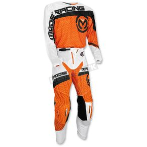 Moose Orange/Black Sahara Jersey - 2910-3996