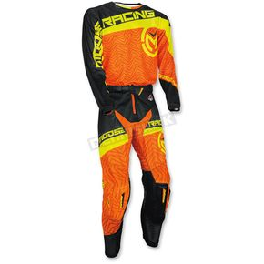 Moose Orange/Yellow/Black Sahara Jersey - 2910-4003