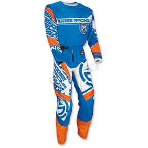 Moose Blue/Orange Qualifier Jersey - 2910-4092