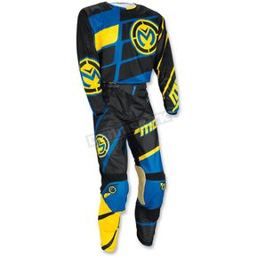 Moose Youth Blue/Yellow/Black M1 Jersey - 2912-1448