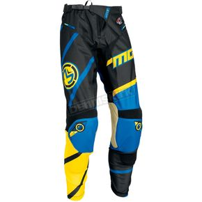 Moose Yellow/Cyan M1 Pants - 2901-5991