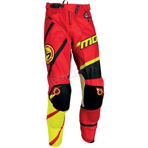 Moose Red/Yellow/Black M1 Pants - 2901-6025