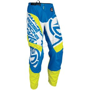 Moose Blue/Hi-Viz Qualifier Pants - 2901-6074