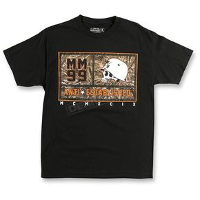 Metal Mulisha Black Real Tree Boxed T-Shirt - SU6518007BLK2X