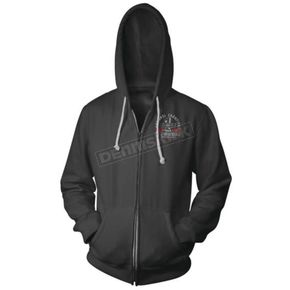 Speed and Strength Black Vance & Hines Anniversary Zip Hoody - 879601