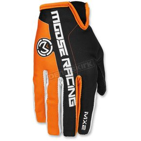 Moose Orange/Black MX2 Gloves - 3330-4210