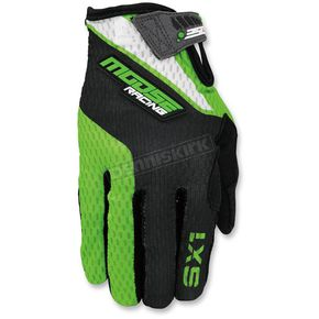 Moose Green/Black SX1 Gloves - 3330-4261