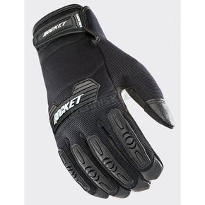 Joe Rocket Black Velocity 2.0 Gloves - 1610-4006