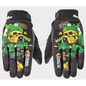Joe Rocket Black/Green Joe Destroy Gloves - 1612-1402