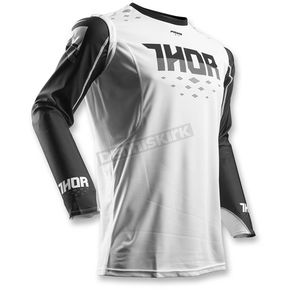Thor Black/White Prime Fit Rohl Jersey - 2910-4229