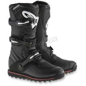 Alpinestars Black/Red Tech T Boots - 2004017-13-5