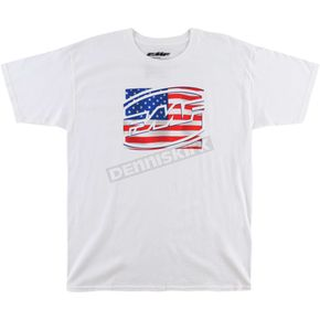 FMF White Freedom Tee Shirt  - FA6118905WHTM