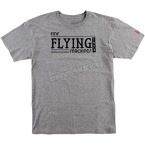 FMF Heather Gray Back in the Day Tee Shirt - FA6118916HGRL