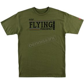 FMF Green Back in the Day Tee Shirt  - FA6118916MGNXL