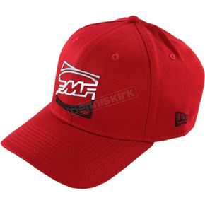 FMF Red The Divide Hat - FA6196908REDS/M