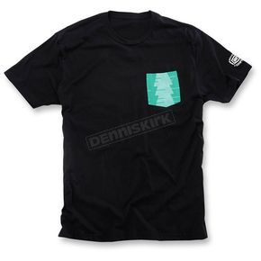 100% Black Conifer T-Shirt - 32045-001-11