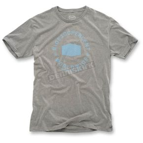 100% Gray Worldwide T-Shirt - 32048-007-11